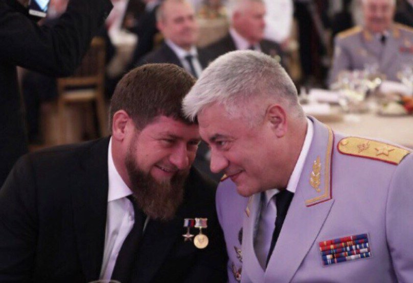 Колокольцев и Р. Кадыров