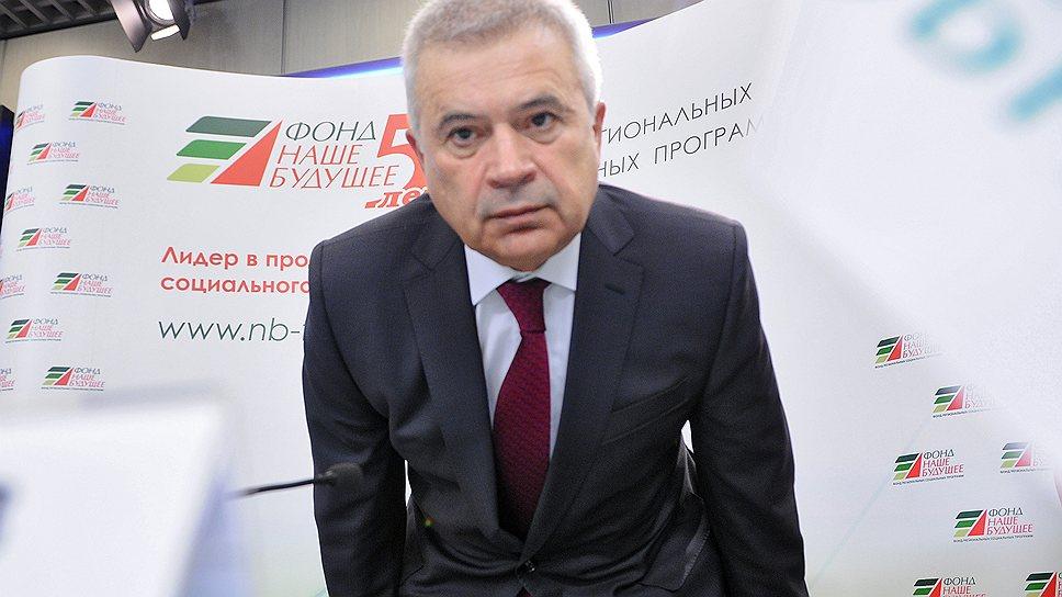 """Президент нефтяной компании """"ЛУКойл"""" Вагит Алекперов"""
