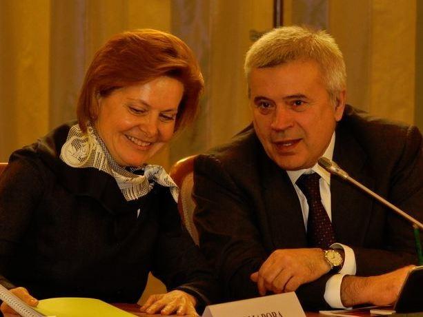ВагитАлекперовс губернатором Югры Натальей Комаровой
