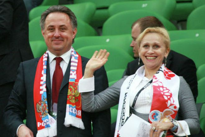 Виталий Мутко с супругой Татьяной