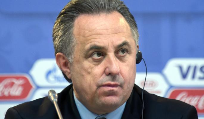 Министр спорта России и президент Российского футбольного союза Виталий Мутко