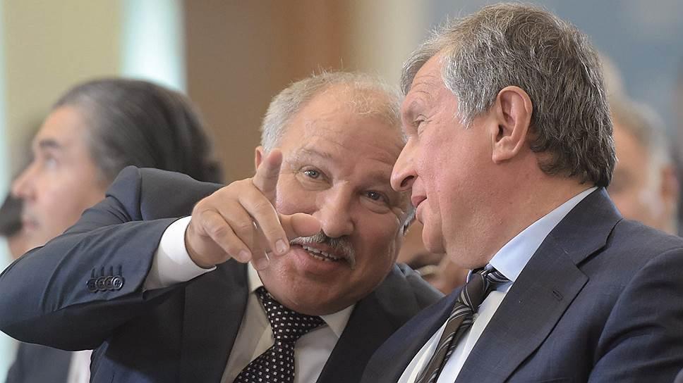 Эдуард Худайнатов и Игорь Сечин