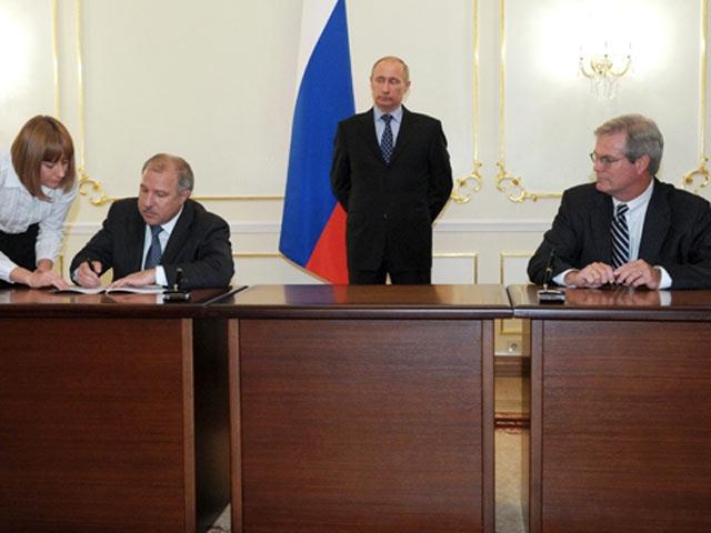 Эдуард Худайнатов и Владимир Путин