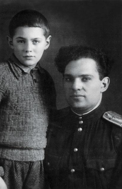 Леонид Рошаль с отцом