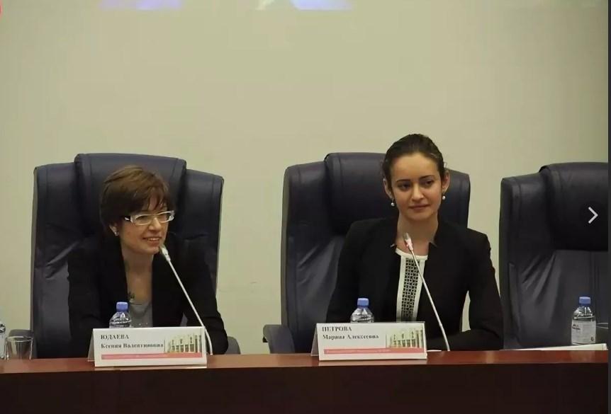 Ксения Валентиновна на встрече со студентами МГИМО