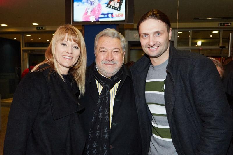 Светлана Журова, Юлий Гусман и Эдгар Запашный