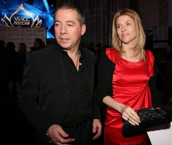 Ресторатор Аркадий Новиков с супругой Надеждой