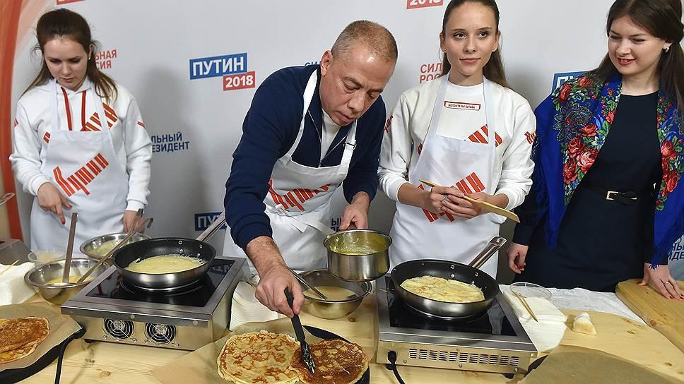 Агитирует за Путина