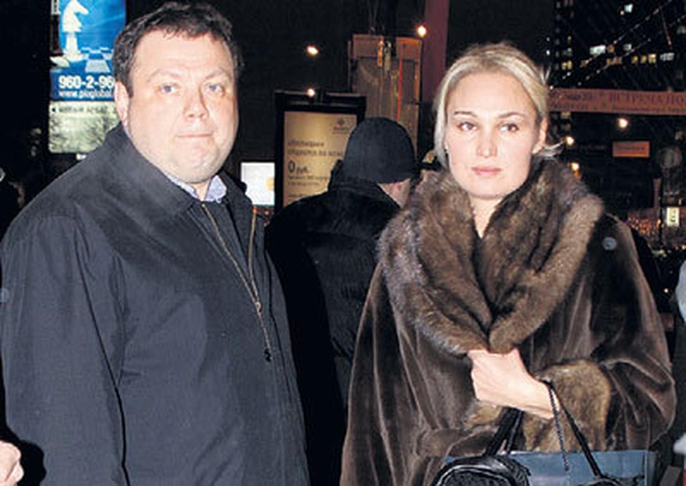 Михаил Фридман с бывшей женой Ольгой
