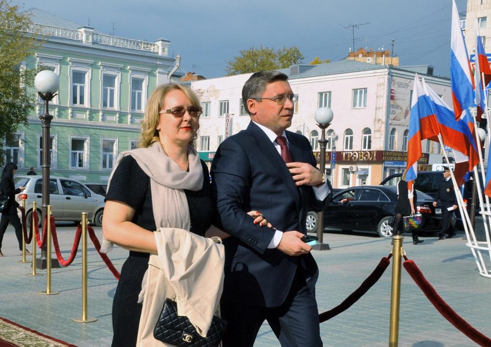 Владимир Якушев и его жена