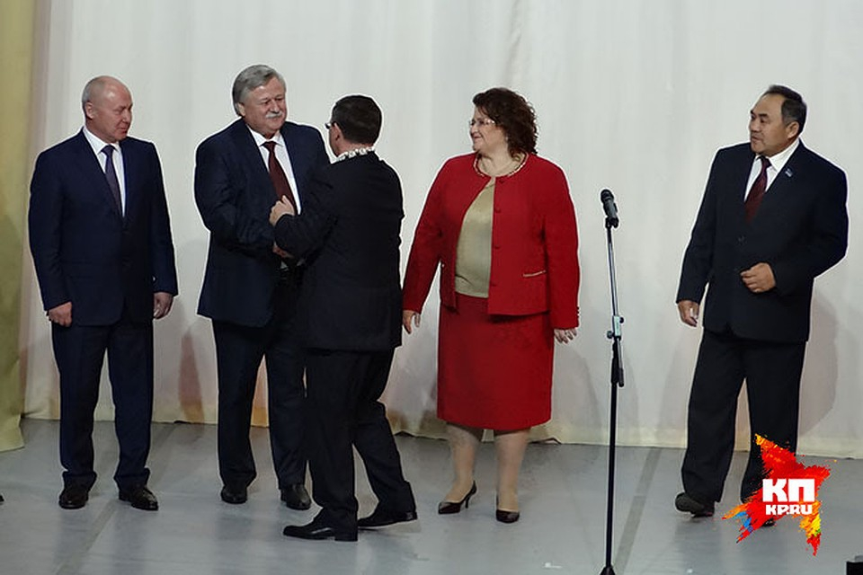 Делегация ЯНАО на инаугурации губернатора Тюменской области Владимира Якушева