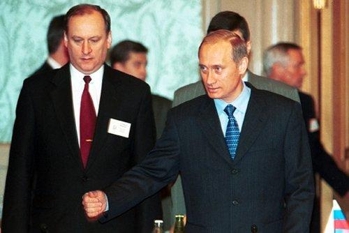 Путин и Патрушев