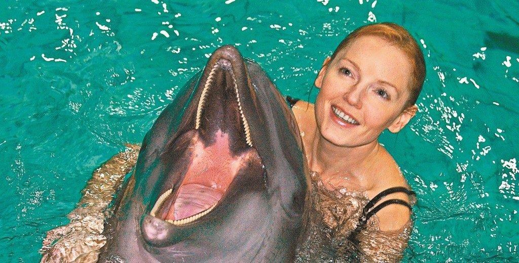 Лариса Вербицкая в купальнике