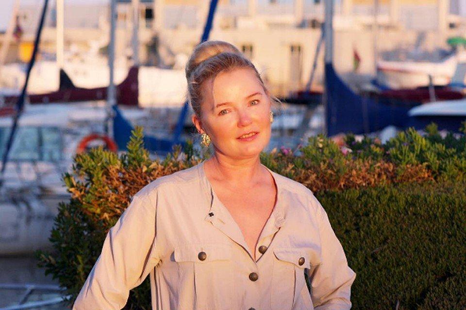 Лариса Вербицкая отдыхает в Испании