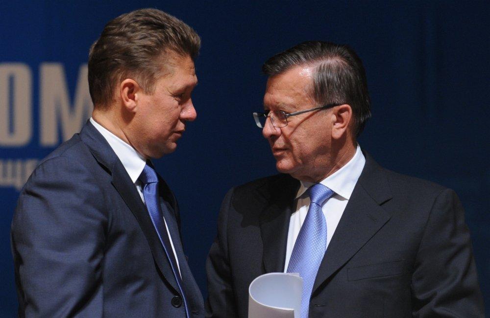 Алексей Миллер и Виктор Зубков