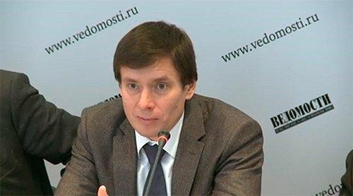 Член Коллегии (Министр) по торговле ЕЭК Андрей Слепнев на конференции