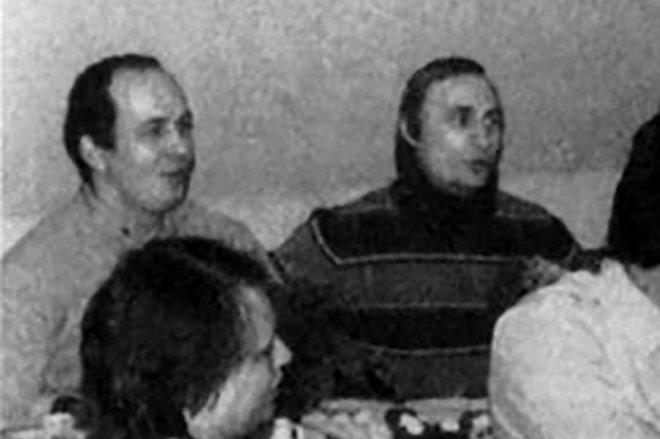 Сергей Чемезов и Владимир Путин.
