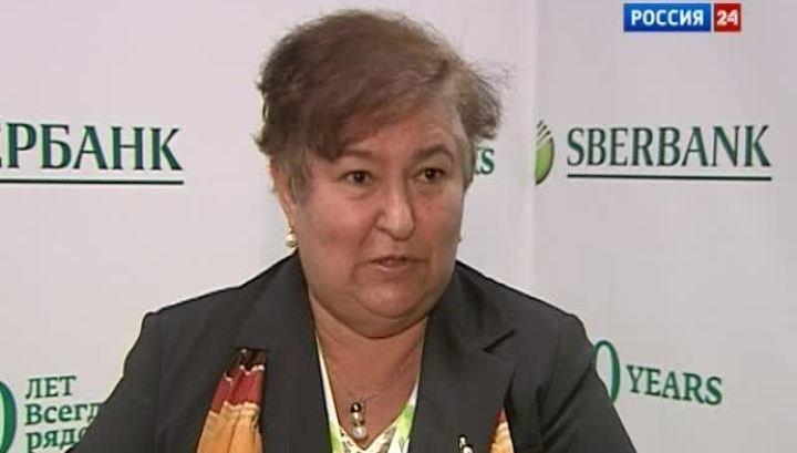 заместитель председателя правления Сбербанка Белла Златкис