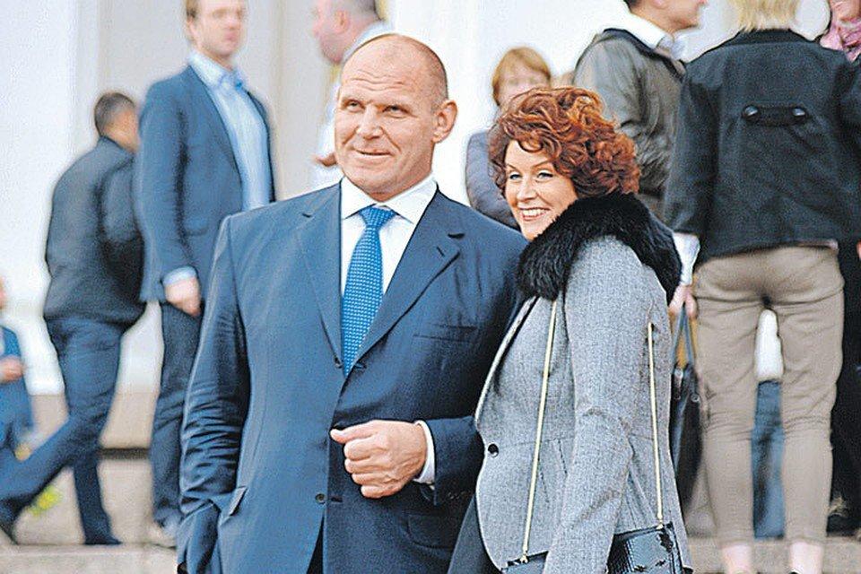 Супруга Сан Саныча Ольга