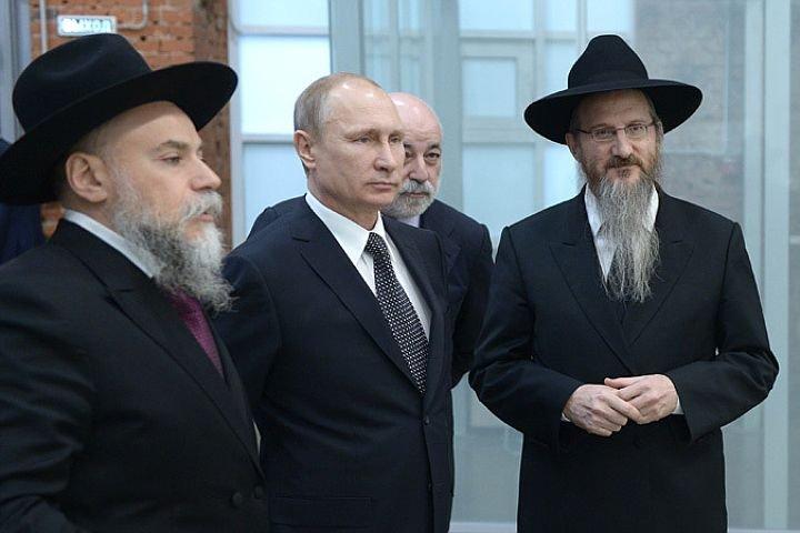 Александр Борода и Путин