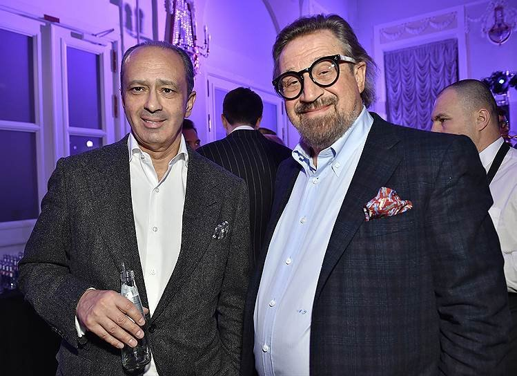 "Председатель совета директоров ""Амедиа ТВ"" Александр Шенкман"
