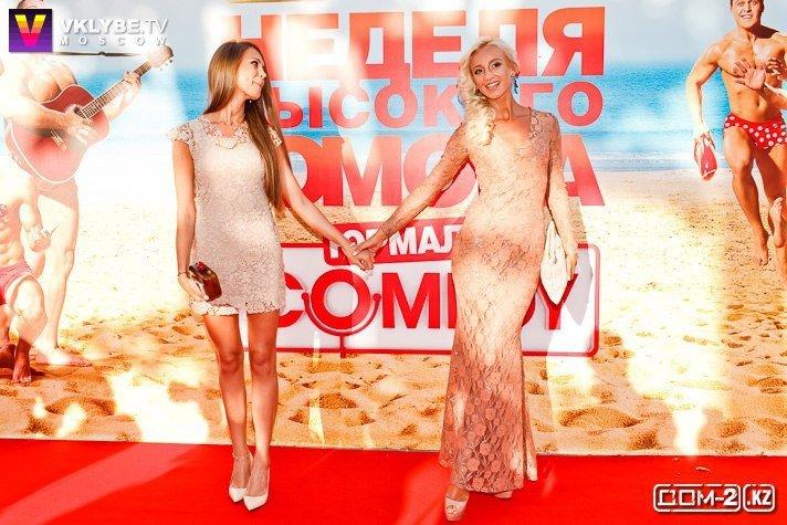 Ольга и Анна Бузовы на фестивале Comedy в Юрмале