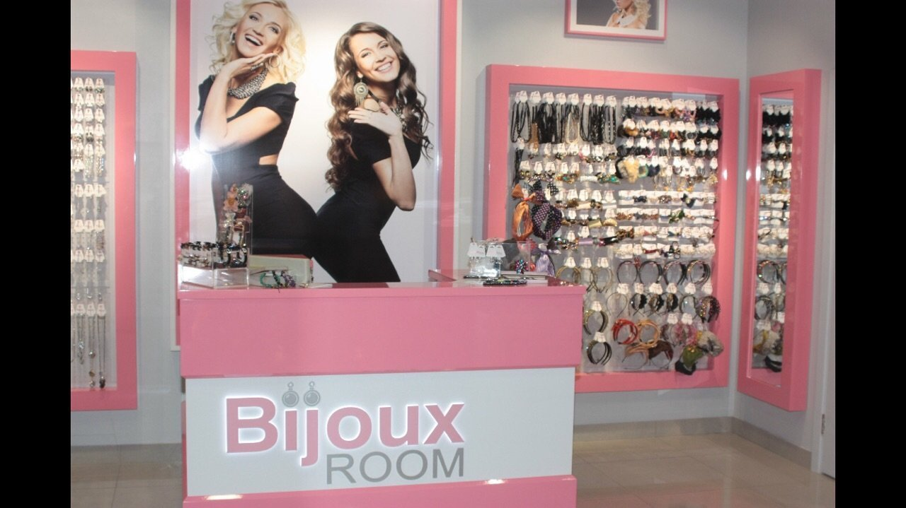 Bijoux Room от Ольги Бузовой, салон бижутерии