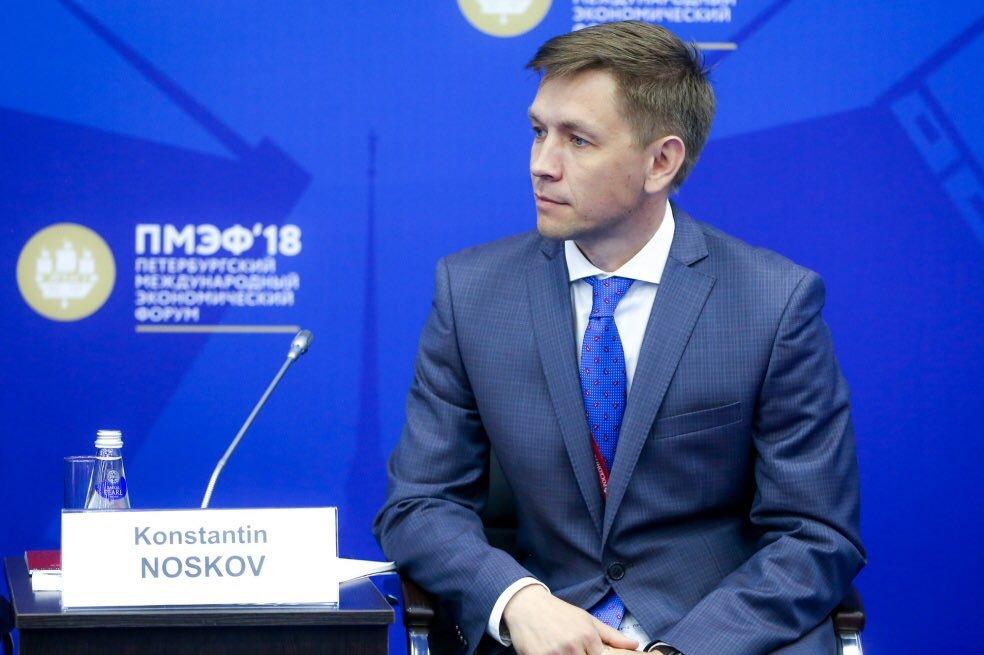 Министр цифрового развития, связи и массовых коммуникаций Константин Носков