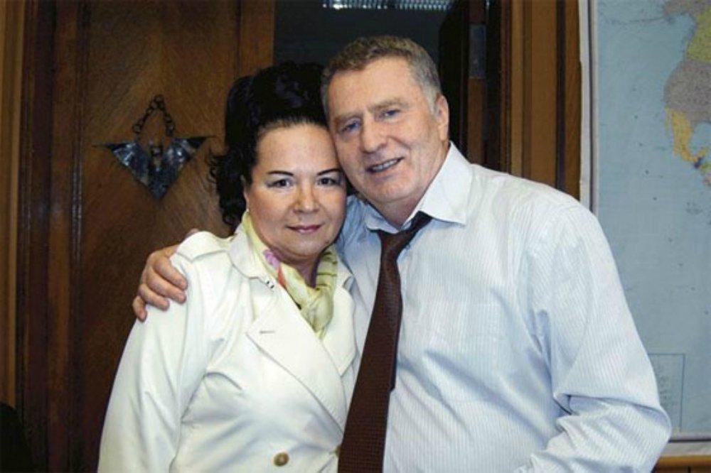 Жена Жириновского Галина Лебедева