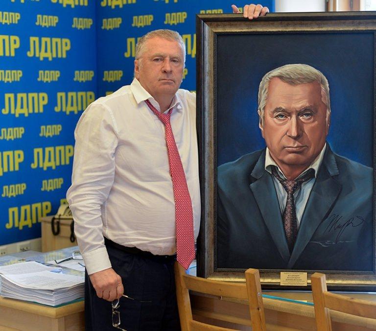 Портрет Владимира Жириновского
