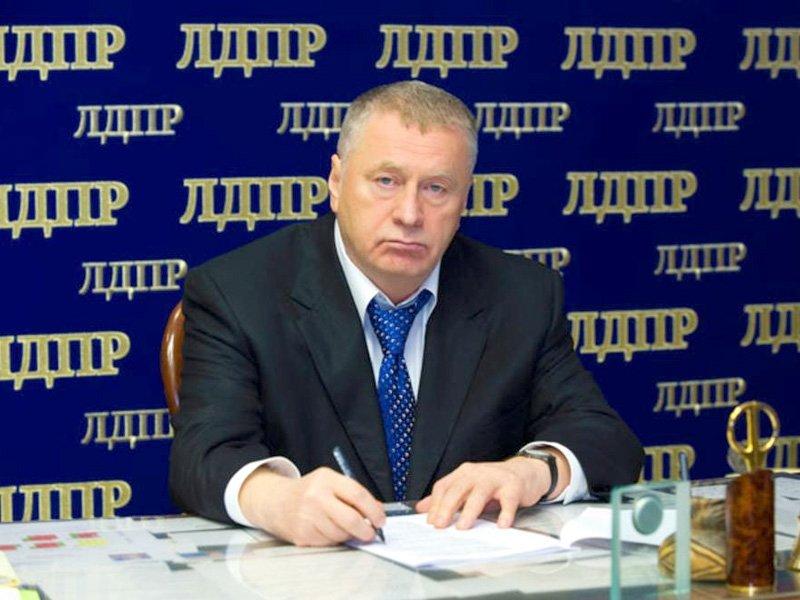 Владимир Жириновский обещает всеобщую амнистию в случае победы на выборах