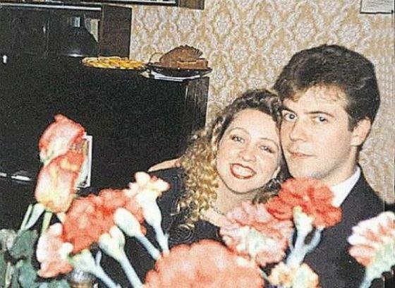 Дмитрий и Светлана в молодости