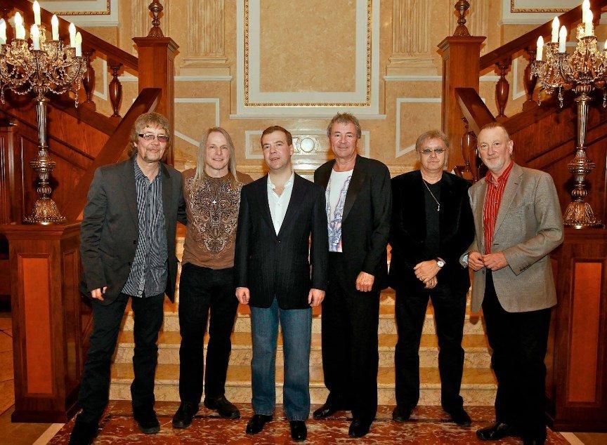 Встреча с кумирами: Deep Purple