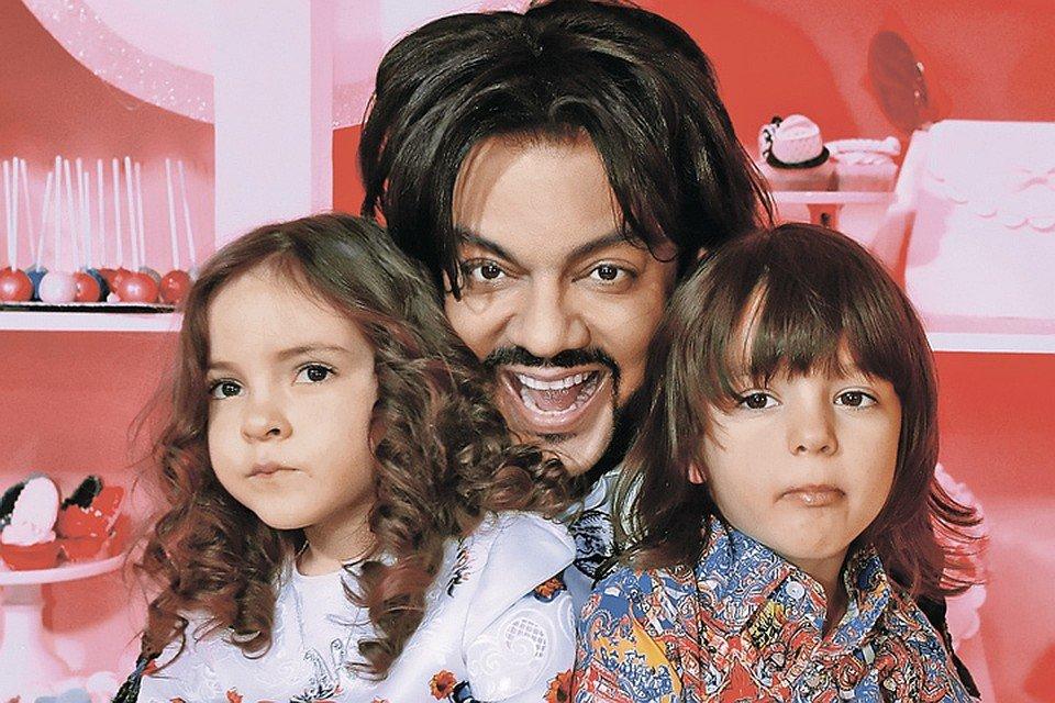 Филипп Киркоров и его дети