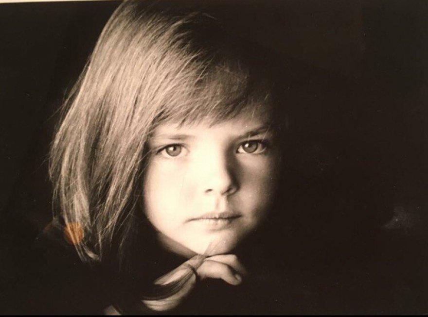 Лиза Боярская в детстве