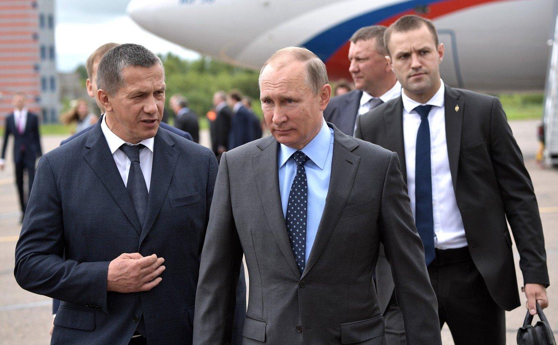 Трутнев и Путин