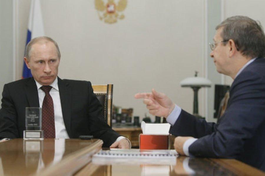 Владимир Путиин и Владимир Евтушенков