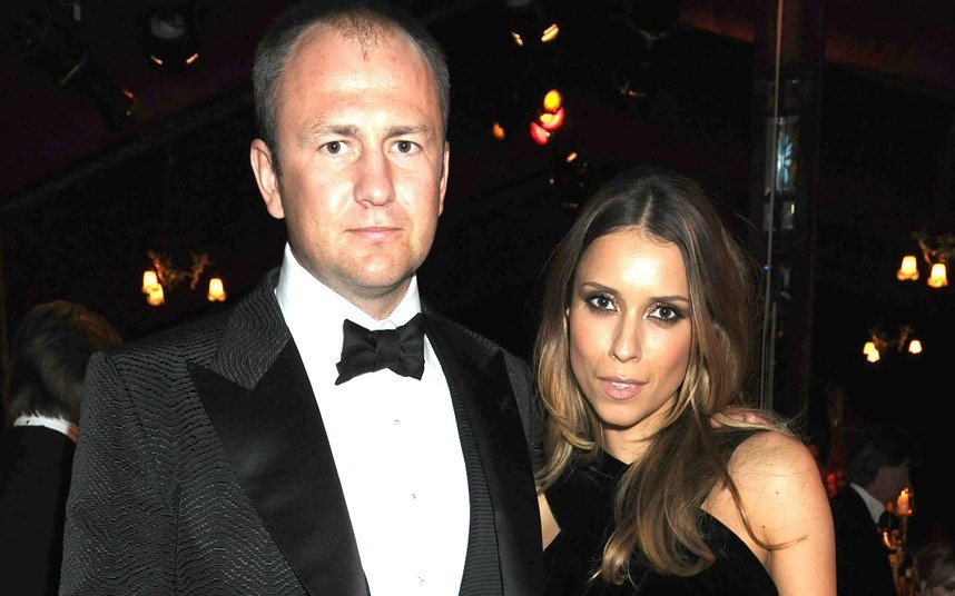 Миллиардер со своей супругой Сандрой Николач