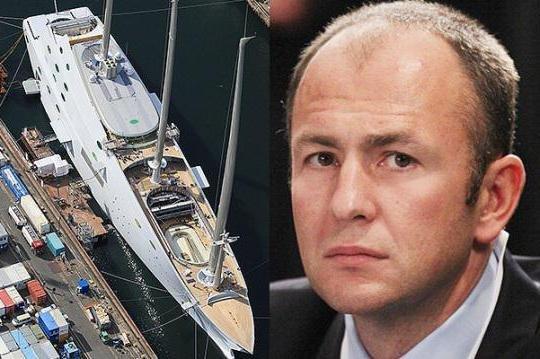 Яхта Мельниченко