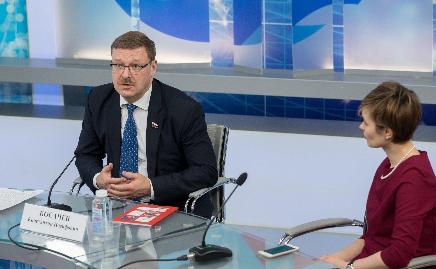 К. Косачев: Значение публичной дипломатии возрастает