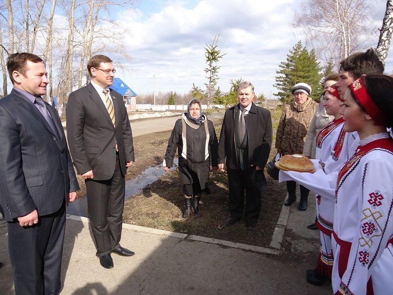 Канашский район с рабочим визитом посетил депутат Госдумы РФ Константин Косачев