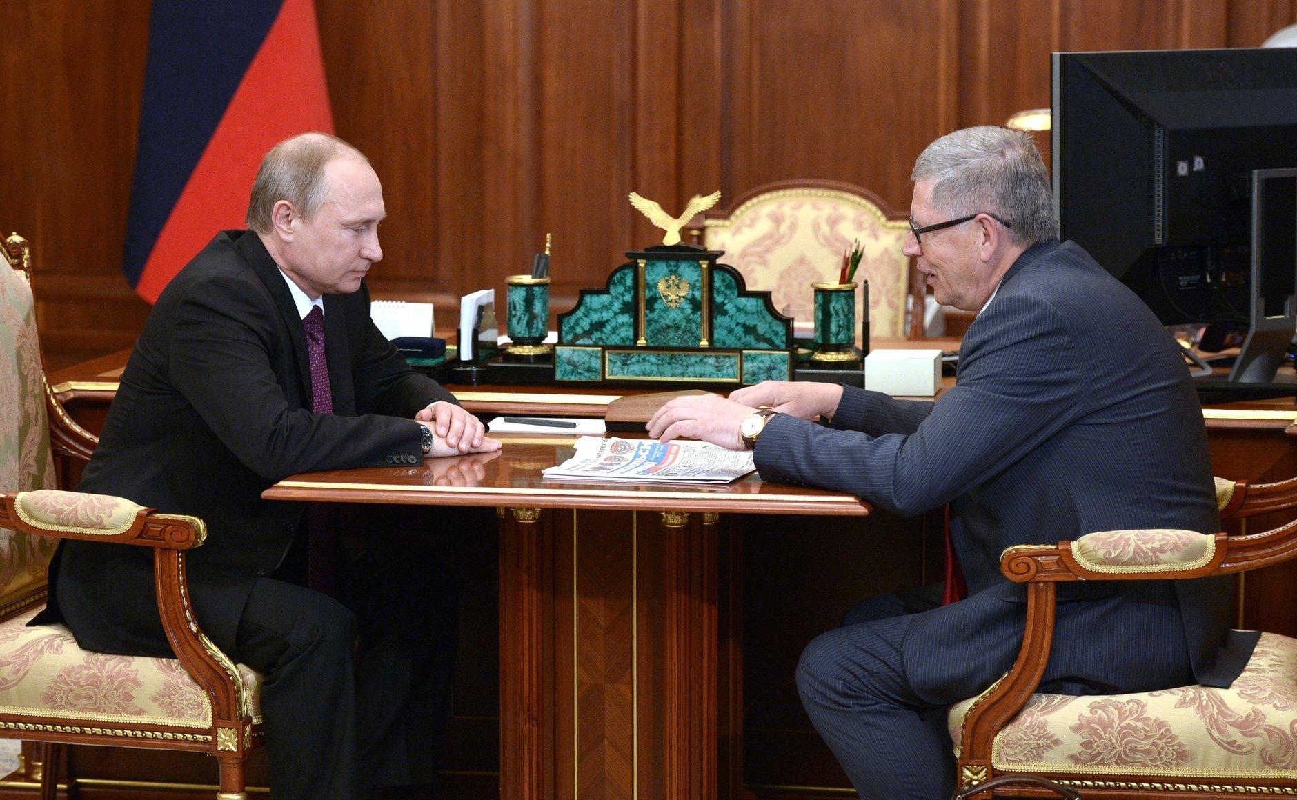 Встреча Владимира Путина с Владимиром Сунгоркиным