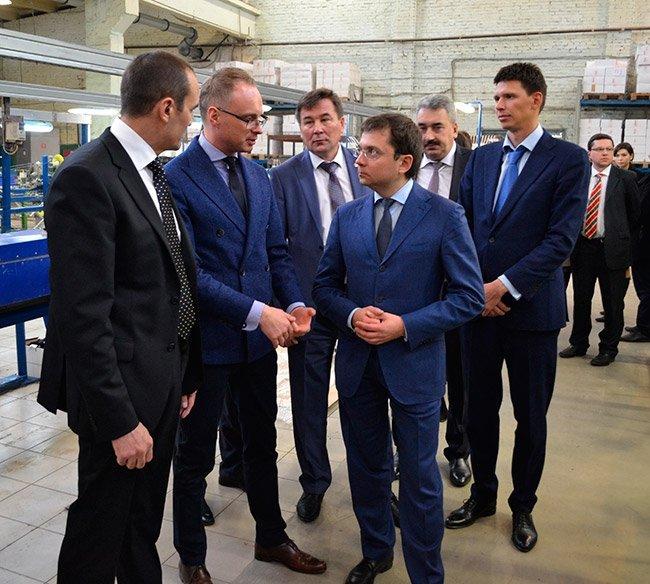 Андрей Чибис и Глава Чувашии Михаил Игнатьев посетили «Гален»