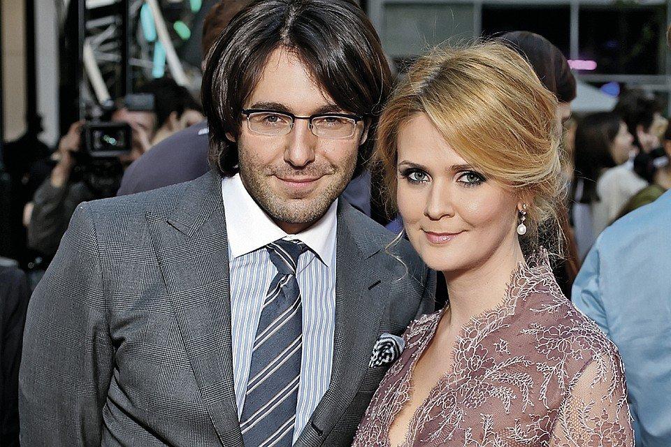 Андрей Малахов со своей женой Натальей Шкулевой