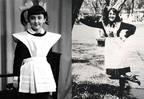 Лолита Милявская- первый класс и окончание школы