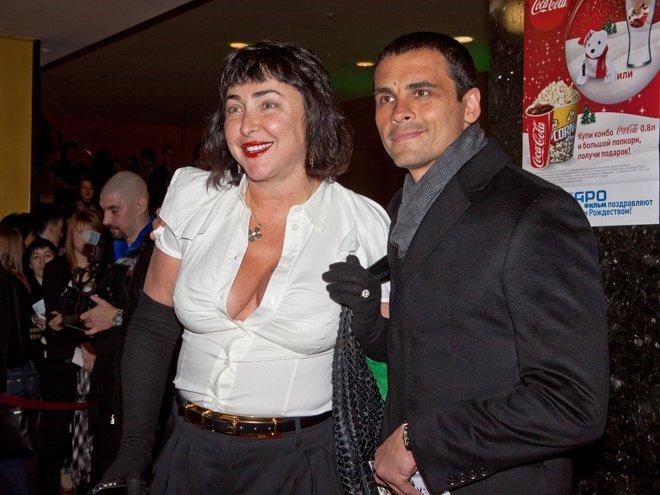 Лолита с молодым супругом Дмитрием Ивановым