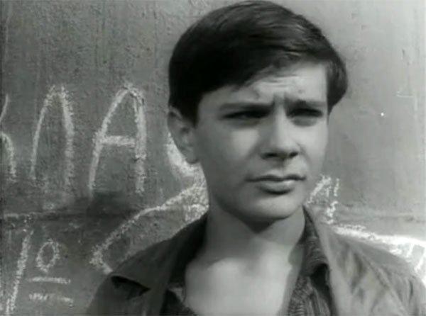 """Михалков в фильме """"Приключения Кроша""""(1961)"""