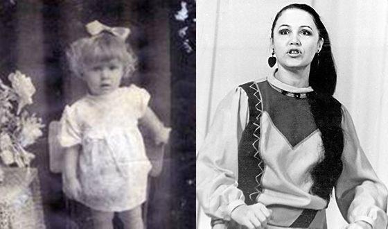 Надежда Бабкина в детстве и юности