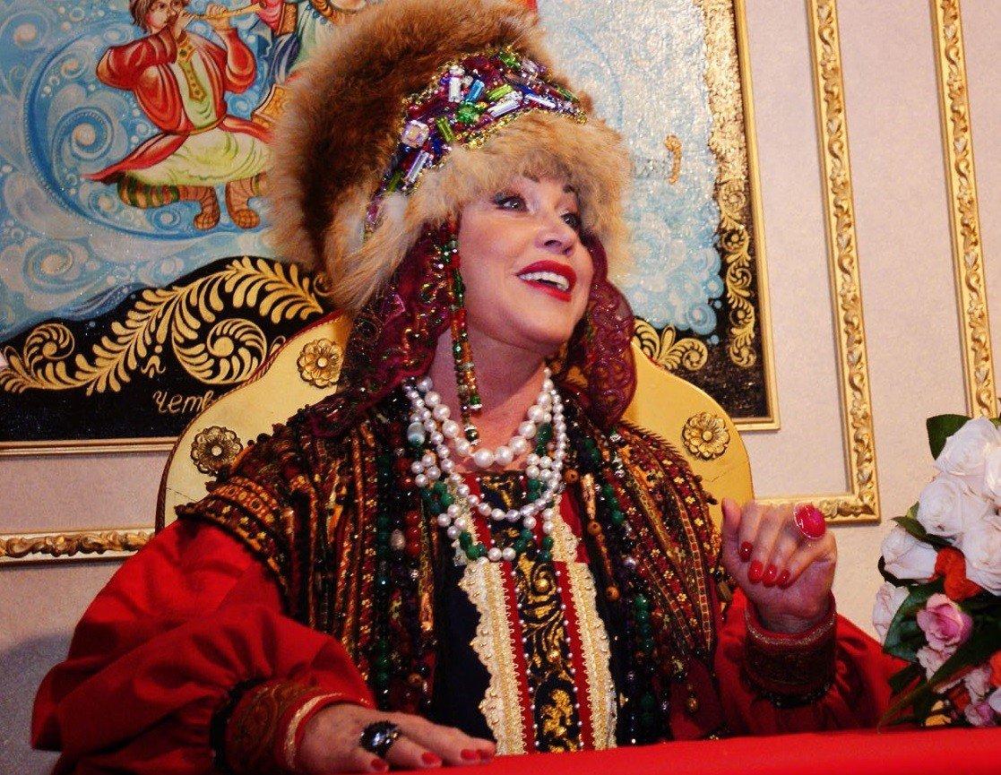 Бабкина -народная певица