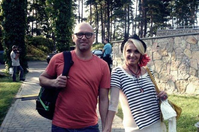 Лайма Вайкуле и Андрей Латковский